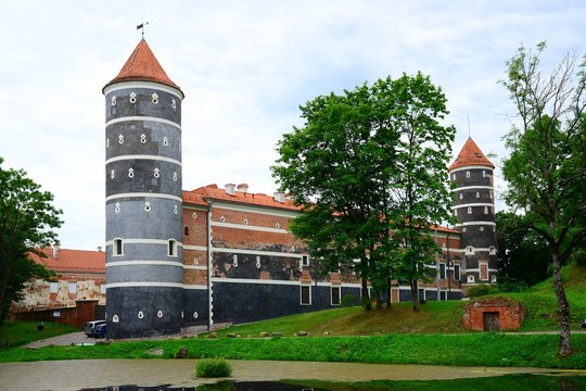 Panemune old castle ensemble on June 27, 2015