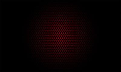 Honeybee Pattern Red
