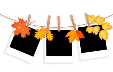 autumn photo illustration