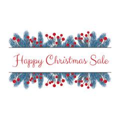 Happy Christmas Sale Banner