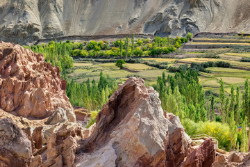 Ruins,Basgo Monastery,Leh ladakh, Jammu and Kashmir, India
