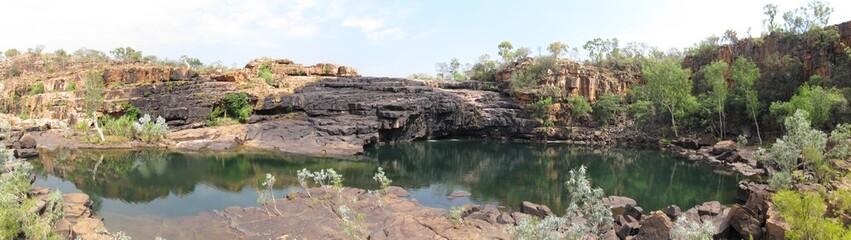 manning gorge,  gibb river, kimberley, western australia