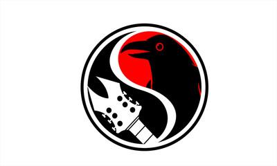 crow bird singing loud