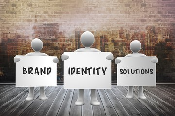 Composite image of brand identity solutions