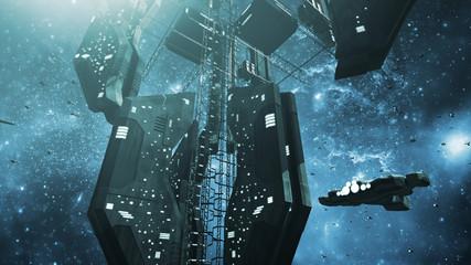 Impressive space station