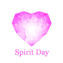 Spirit day heart.