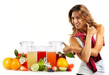 Frutta fresca - spremute - centrifughe