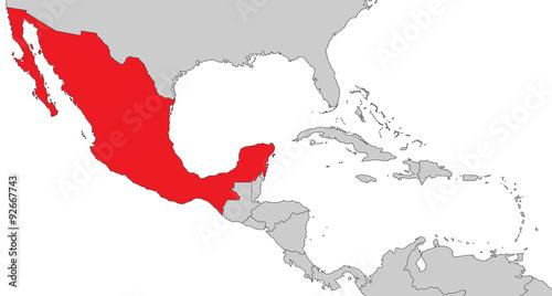 Mexiko Karte Umriss.Mittelamerika Mexiko Stockfotos Und Lizenzfreie Vektoren
