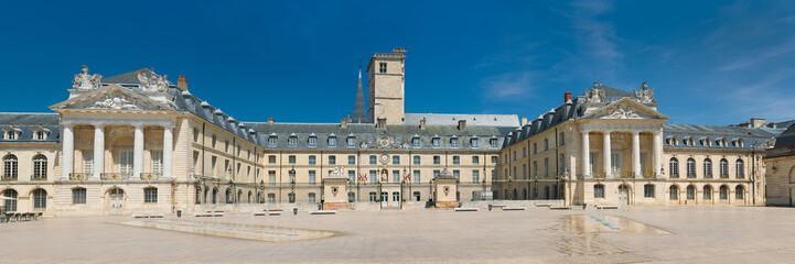 Palais des Ducs de Bourgogne  in a sunny summer day