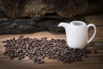 Coffee beans of high quality from selected quality beans.