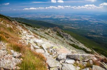 View from High Tatras, Slovakia