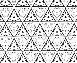 Чёрные и белые узоры. P