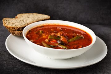 Gemüsesuppe - vegetable soup