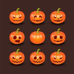 Набор тыкв для Хэллоуина