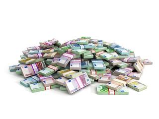 Millions of Euros - Euro Banknotes