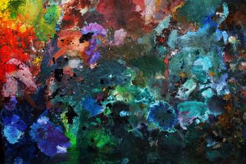 Oil-paint palette