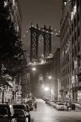 Fototapete - Manhattan Bridge