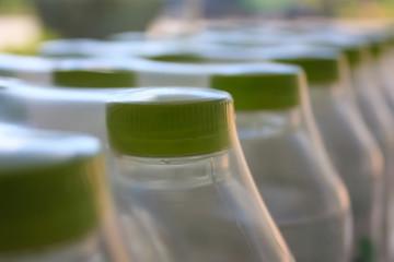 water bottles in plastic pack