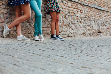 Six foot three friends