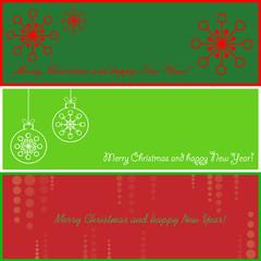 Three Christmas cards