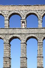 Wall Mural - Ancient Roman aqueduct