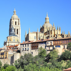Wall Mural - Cathedral of Segovia