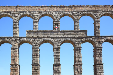 Wall Mural - Roman aqueduct