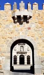 Wall Mural - Gate of Avila