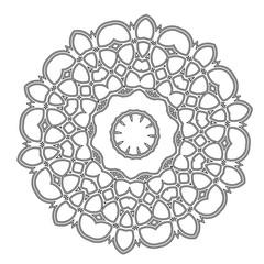 Mandala. Hand drawn ethnic decorative elements. Arabic, Islam