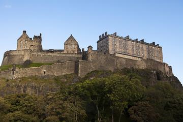 Edinburgh Castle Fortress