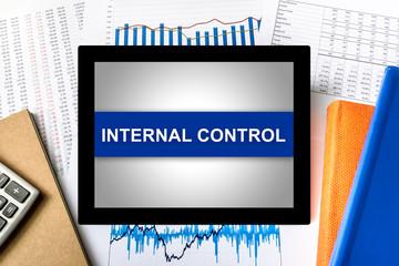 internal control word on tablet