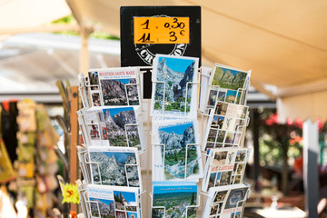 Postcard display