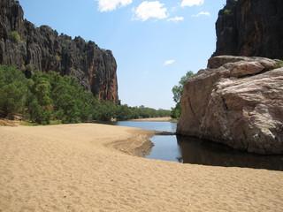 windjana gorge, gibb river, kimberley, western australia