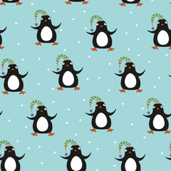 penguin seamless