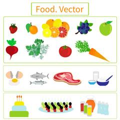 Food. Elements.