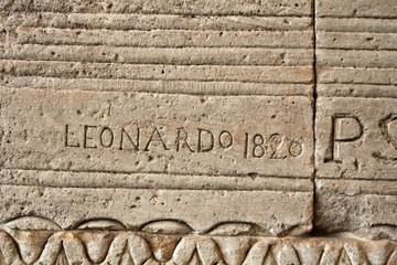 New York Inschrift