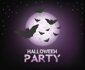 Halloween party illustration