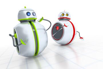sweet little robots