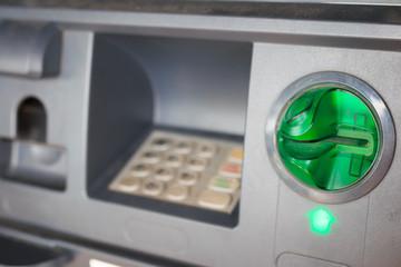 ATM close-up