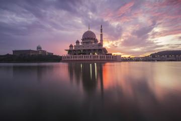 Sunrise in Putrajaya, Malaysia
