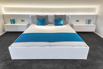 Bett schlafen Schlafzimmer modern