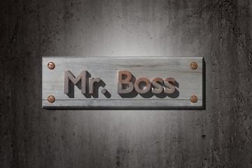 Mr boss