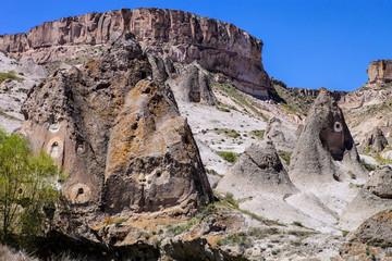 Fantastic landscape of Cappadocia in Turkey, incredible rock formations
