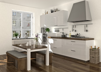 Küche Mit Sitzbank