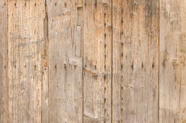 Alte kaputte Holzwand