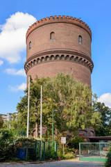 Neuköllner Wasserturm, Südseite