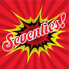 Seventies Background