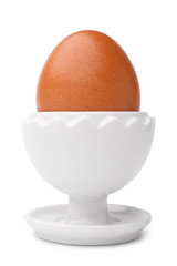 Egg on a stand