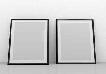 Picture frames (inside your artwork there)