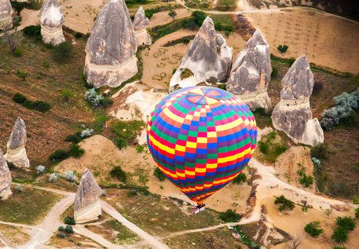 fly balloons CappadociaTurkey.